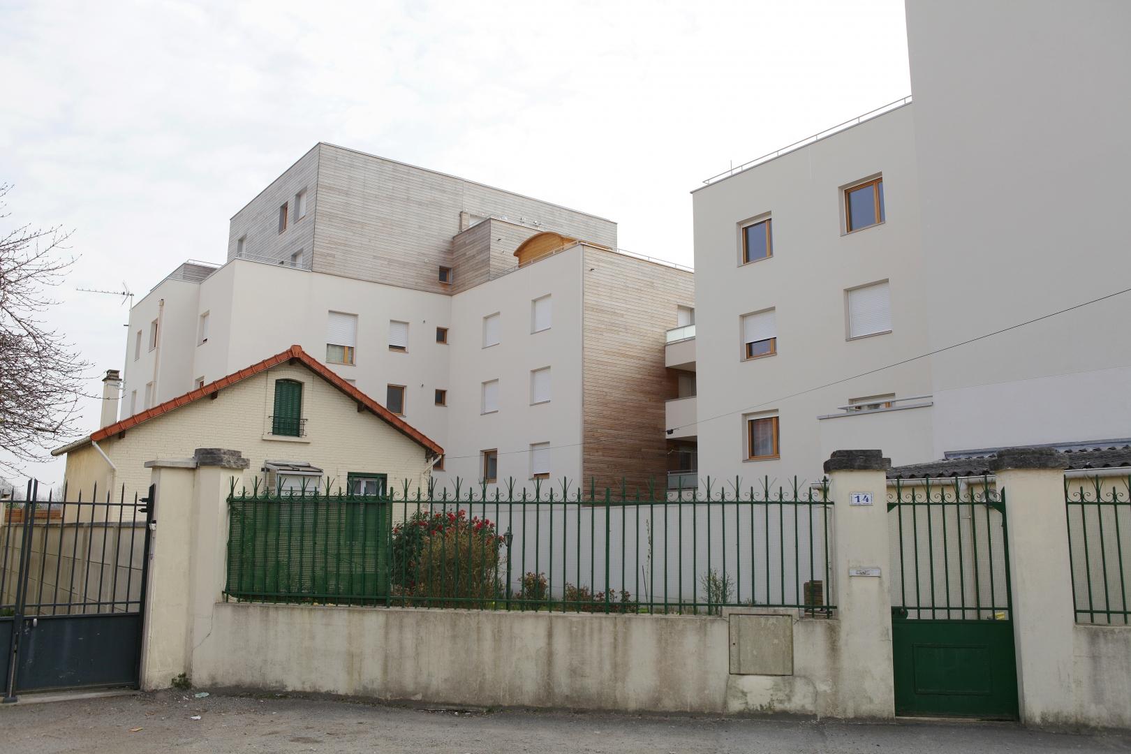 46 logements collectifs vitry sur seine 94 cenci et - Abri jardin habitat et jardin vitry sur seine ...