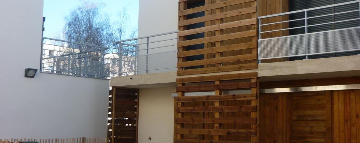 36 logements individuels superpos s sainte genevi ve des bois 91 cenci et jacquot. Black Bedroom Furniture Sets. Home Design Ideas