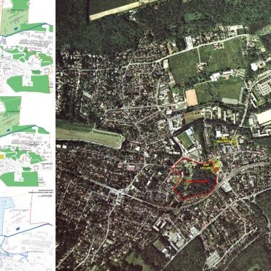 R alisations urbanisme cenci et jacquot for Plan bures sur yvette